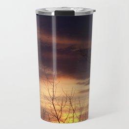 Maine Sunset Travel Mug
