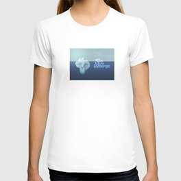 Save the icebergs, stop climate change ! T-shirt
