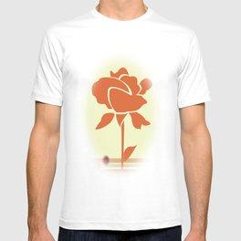 A Single Rose in My Garden T-shirt