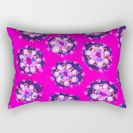 Pink Nevada Rose Rectangular Pillow