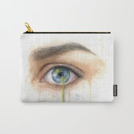 Crying Earth Eye Carry-All Pouch