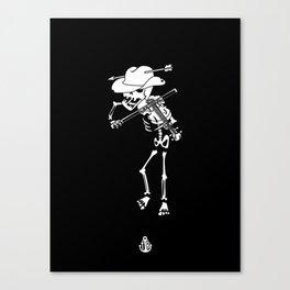 Violon wildwest Canvas Print