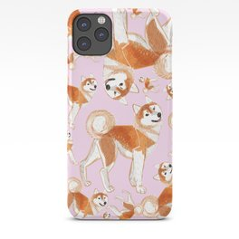 Akita Inu (Pattern) iPhone Case