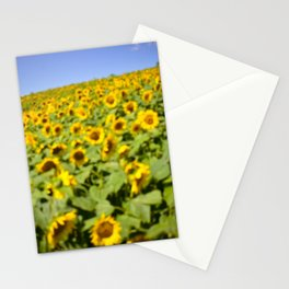 Summer Sunflower Love II Stationery Cards