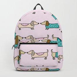 Cute dachshunds Backpack