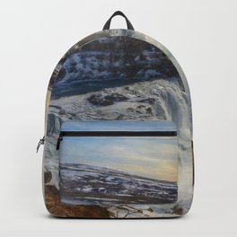 Gulfoss, Iceland Backpack