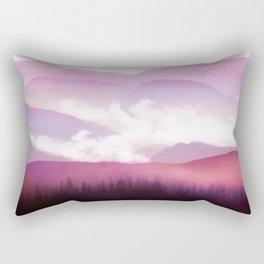 Candy Floss Mist Rectangular Pillow