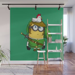 The Legend of MinLink Wall Mural