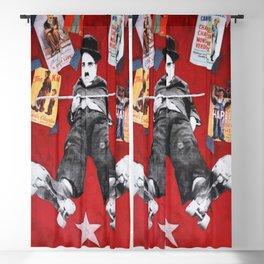 Charlie Chaplin «Rollers» Blackout Curtain