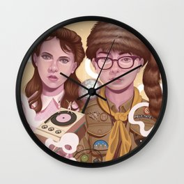Moonrise Kingdom Wall Clock