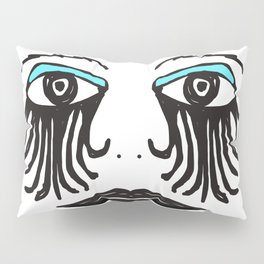 Gothic Face Pillow Sham