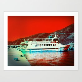 The Red Sea Art Print