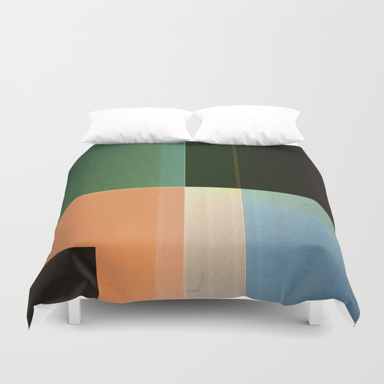 Abstract #143 Duvet Cover