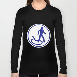 Parking zone for disabled Long Sleeve T-shirt
