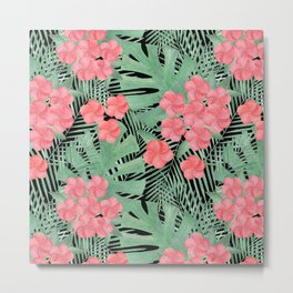 Tropical pattern.5 Metal Print