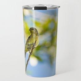 Yellow Bird - I Travel Mug