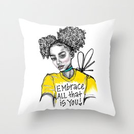#STUKGIRL ALIANA Throw Pillow