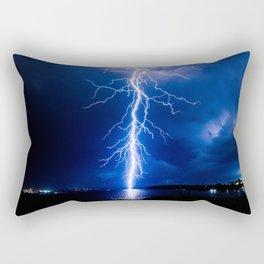Balmoral Beach Lightning Strike Rectangular Pillow