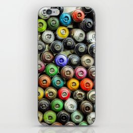 SPRAY CANS 2 iPhone Skin
