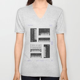 Collection : Synthetizers Unisex V-Neck