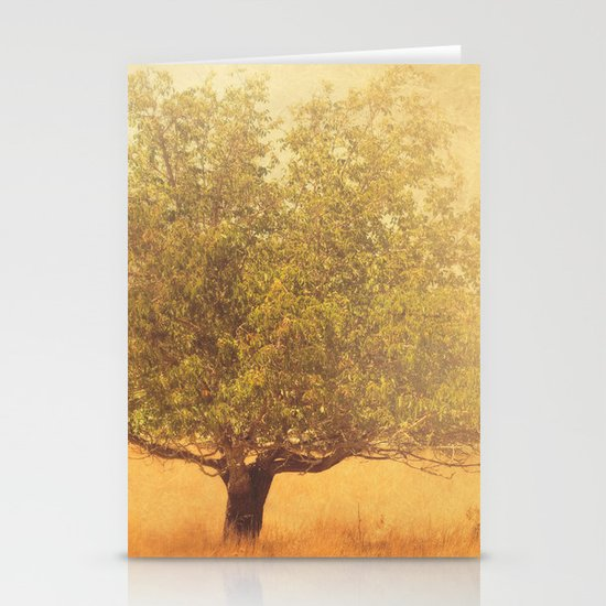 tree photograph. Solitude.  Stationery Cards