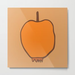 just apple Metal Print