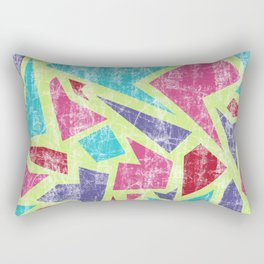 Aged terrazzo 2.2 Rectangular Pillow