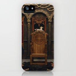 Golden Hall iPhone Case