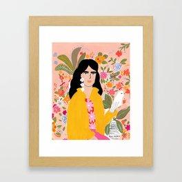 Doves Paradise Framed Art Print