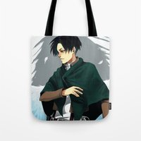 levi Tote Bags featuring Levi by MelCassells