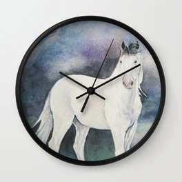 Medicine Hat Wall Clock
