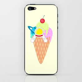 Space Odyssey Ice Cream | Astronaut Ice Cream | Space Ice Cream | Galaxy Ice Cream | pulps of wood iPhone Skin