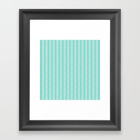 THIS WAY - OR THAT WAY? Framed Art Print