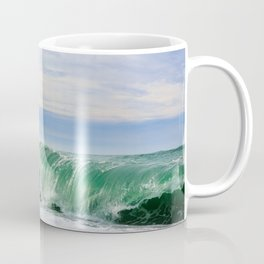 Ocean Waves Breaking on Shore Coffee Mug