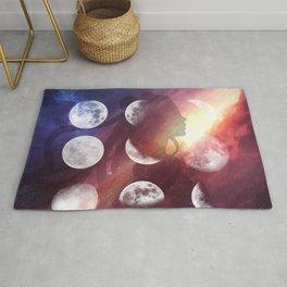 Moon Goddess Selene Rug