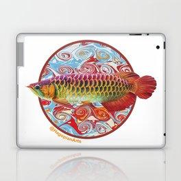 The Eco Mural Project 3: Arowana Laptop & iPad Skin