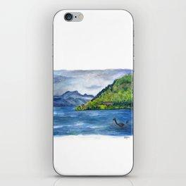 Loch Ness (with Nessie) iPhone Skin