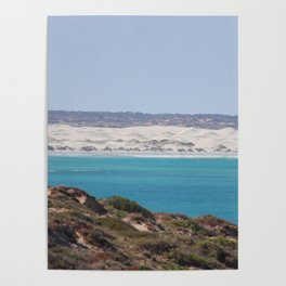 Distant Sacred Land on Nullarbor Poster
