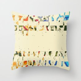 Epitaph for Moebius Throw Pillow