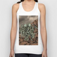 cthulhu Tank Tops featuring Cthulhu by MrDenmac