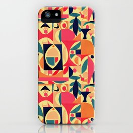 tango in the peach tree iPhone Case
