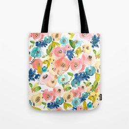 Floral POP #1 Tote Bag