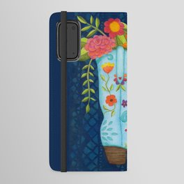 Cowgirl Boot Android Wallet Case