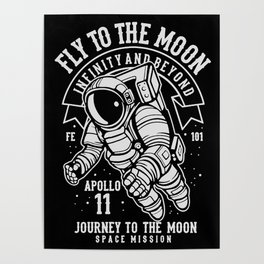 journey to the moon Poster