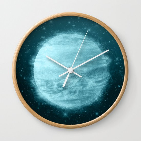 Ice Planet Wall Clock