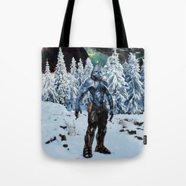 Visitor from Outer Space Tote Bag