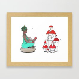 SOSANNA and SHAMANS Framed Art Print