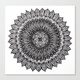 Sinful-Black Canvas Print
