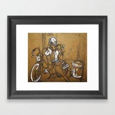 Scoundrel Framed Art Print