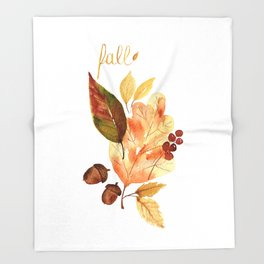 """""""Fall""""ing For You Throw Blanket"""